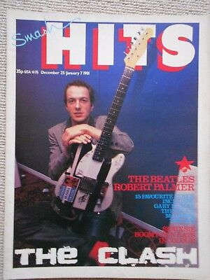 Smash Hits magazine. DECEMBER - JAN 1981. THE CLASH , BEATLES , SIOUXIE