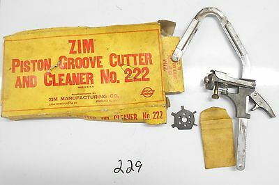 ZIM Piston Groove Cutter and Cleaner # 222