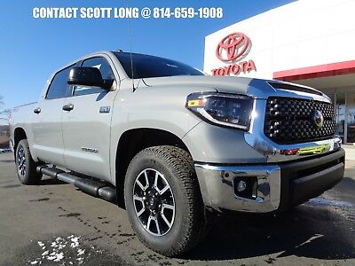 2019 Toyota Tundra 2019 Crewmax 5.7L V8 4WD TRD Off-Road New 2019 Tundra Crewmax 4x4 5.7L V8 TRD Off Road Cement 4WD TRD Dual Exhaust