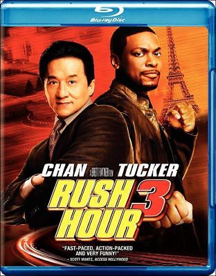 """Rush Hour 3"" NEW Sealed Blu-ray Disc Region A/1 Jackie Chan Chris Tucker"
