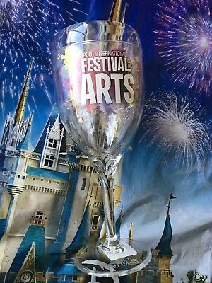 Disney 2019 Epcot Festival Of The Arts Tervis Wine Glass Figment New