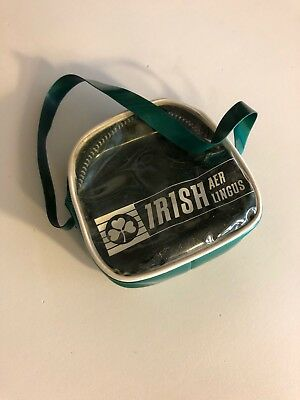Vintage Irish Aer Lingus Zippered Coin Purse-Great Condition