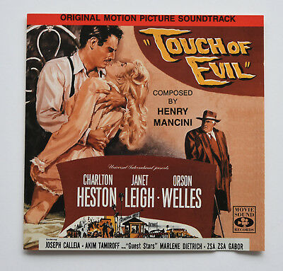 Henry Mancini – Touch Of Evil (Original Motion Picture Soundtrack) OST CD