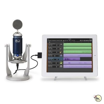 Blue Spark Digital Studio USB Lightning i Pad Mic for Podcast Garage Band ios