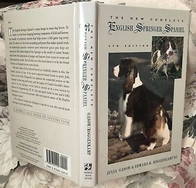 The New Complete Springer Spaniel Dog Book ~ Gasow & Roggenkamp ~ DOG BOOK ~ new