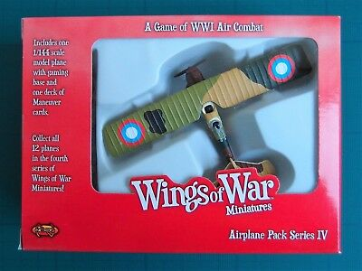 Wings Of War Miniatures - Breguet Br.14 B2 (Browning & Duke) -Airplane Pack S.iv