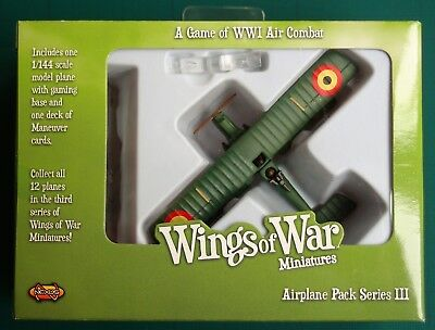Wings Of War Miniatures - Raf R.e.8 (Aviation Militaire) - Airplane Pack S.iii