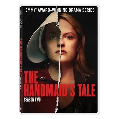 The Handmaid's Tale Season 2 Complete DVD 2018, 3-Disc Set New Free Shipping