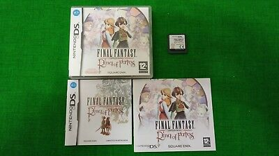 Final fantasy Crystal chronicles - Ring of fates Nintendo DS + guida strategica