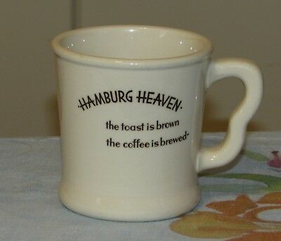 Vintage Shenango China Hamburg Heaven Restaurant Ware Mug Very Nice!