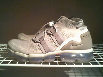 """NIKE AIR VAPORMAX FLYKNIT UTILITY """"Moon Particle"""" MEN'S LIFESTYLE SHOES SIZE 12"""