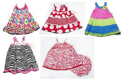 NWT Girls Summer Dress Birthday Party NEW Easter 6m 9m 12m 18m 24m 3T floral