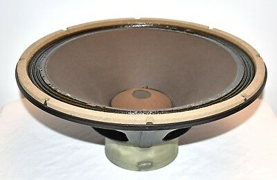 """(1) ALTEC Lansing 416 8 15"""" Voice of Theater Speaker Woofer Driver WORKING!!"""