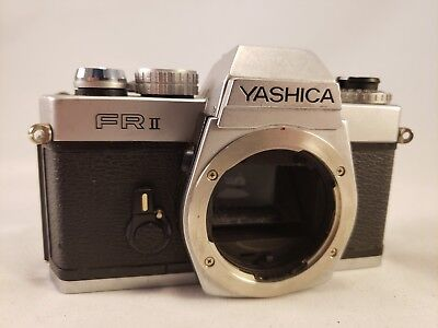 Yashica FR II 35mm Camera Body - Vintage Decor or Parts