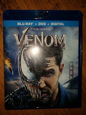 Venom Blu Ray & Dvd Lot
