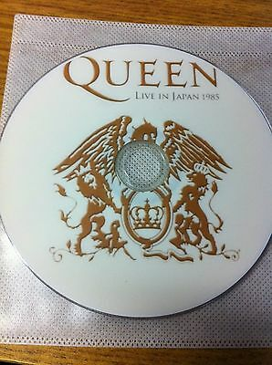 Queen Live In Tokyo Japan 1985 Dvd Yoyogi National Stadium The Works Tour