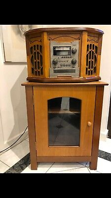 Innovations Vintage Complete Music System (incl. Record Player) With Cabinet