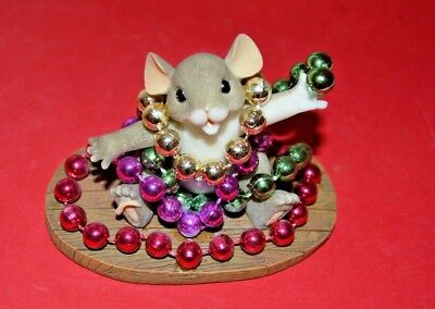 """Charming Tails """"MARDIE GRAS""""  By FITZ AND FLOYD"""