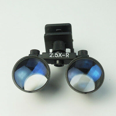 Clip Style Medical Surgical Binocular Dental Loupes Eyeglass 2.5X Magnifier