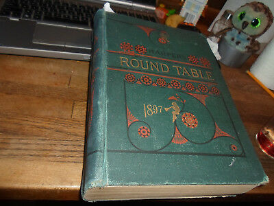 1897 HARPER'S ROUND TABLE with TEDDY ROOSEVELT HOWARD PYLE JAMES BARNES & ETC!