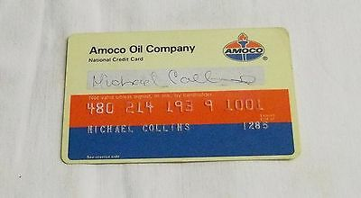 Vintage Amoco Oil Company Credit Card............ ...............99