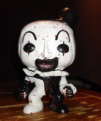 Custom Funko Pop ART THE CLOWN from TERRIFIER