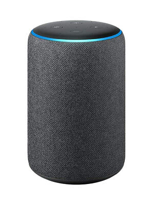 Amazon Echo Plus (2nd Generation) Smart Assistant - Charcoal Fabric Alexa