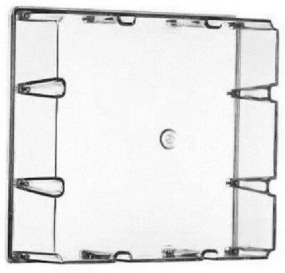 Clipsal ADAPTABLE ENCLOSURE COVER ONLY 294x180mm 9-Gang Deep, Grey*Aust Brand