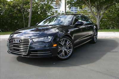 2016 Audi A7 2016 AUDI A7 PREMIUM PLUS LOADED 2016 AUDI A7 PREMIUM PLUS 30K MILES 14 15 16 17 650 COLD WEATHER LOADED NIBT