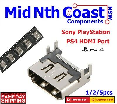 1/2/5pcs PS4 HDMI Port Connector For Replacement PlayStation 4 PS4 Interface