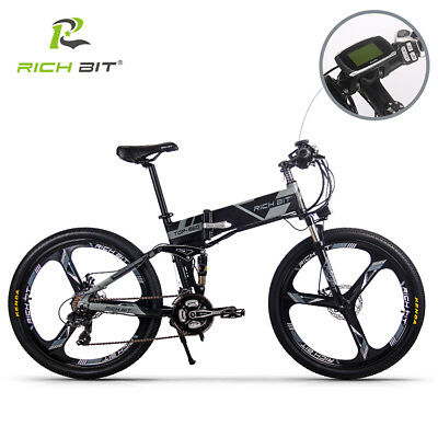 "250W Folding Electric bike Bicycle 26"" Ebike 36v12.8ah Built In Battery/Throttle"
