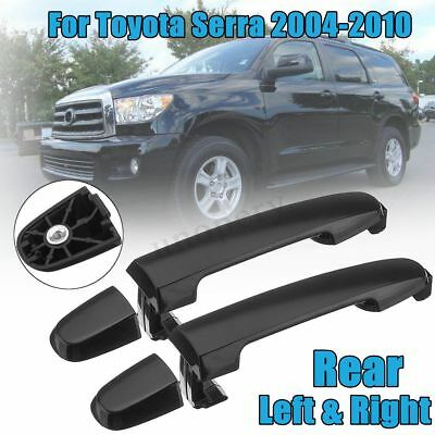 2pcs Exterior Door Handle For 2004-2010 Toyota Sienna Rear LH or RH Sliding Side
