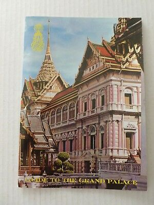 Bangkok Thailand Guide to the Grand Palace Travel Booklet undated - 1970/1980's
