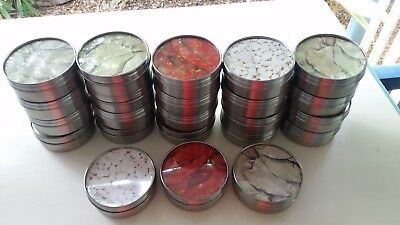 23 x Ikea magnetic storage spice jars stainless steel - new