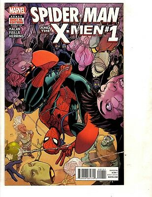 12 Marvel Comics Spider-Man and the X-Men # 1 2 3 4 5 6 X-Men Gold # 1 + CJ16
