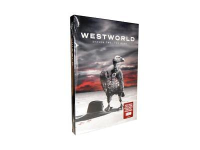 Westworld: The Complete Second  Season 2 (DVD, 2018, 3-Disc Set)