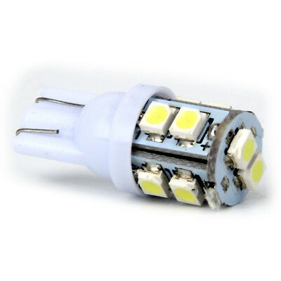 1x T10 White 12V 10 LED 194 168 158 W5W 501 Side Car Auto Wedge Light Lamp Bulb