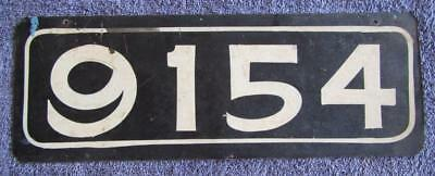 Solomon Island License/number Plate # 9154