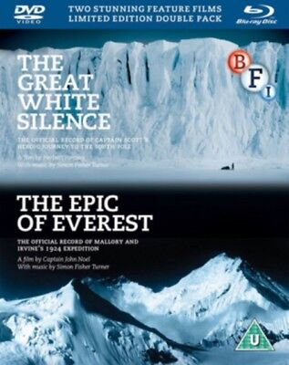 Neu The Great White Silence / The Epic Of Everest Blu-Ray + DVD