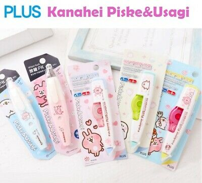 Kanahei Piske&Usagi Correction Tape PLUS Whiper MR White Out Cute Rabbit Animals