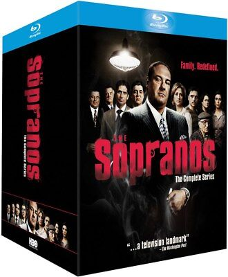The Sopranos Complete Series Collection Blu-ray Boxset New Region Free A,B,C!