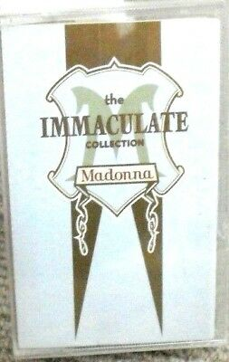 Madonna - The Immaculate Collection Cassette Tape Lp 1990
