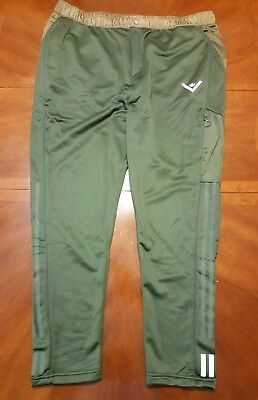 71e7a5138ef4 NWT ADIDAS White Mountaineering Green Athletic Track Pants Men s Size XL  Olive