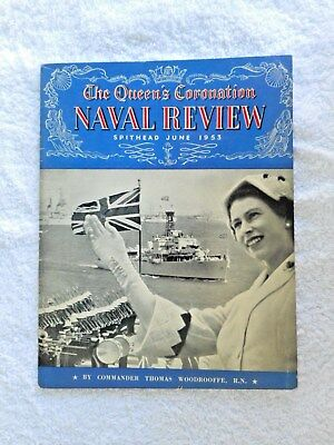 VINTAGE THE QUEEN'S CORONATION DAY NAVAL REVIEW BOOK PITKINS 1953 #eBay MARKETS