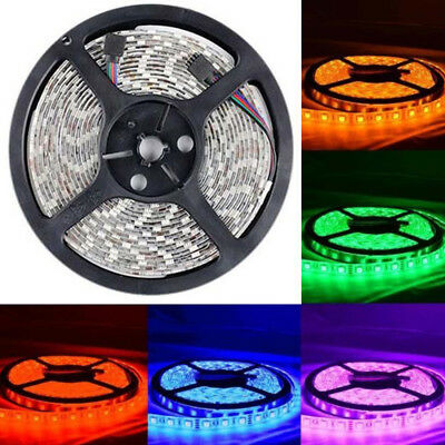 3528/5050 SMD 1/2/3/5M RGB LED Flexible Strip Light Home Car Birthday Decor