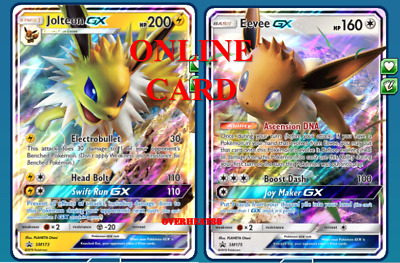 Jolteon GX Premium Collection SM173 - Pokémon TCG Online Card PTCGO - SENT FAST!