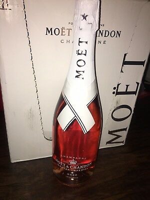 Moet & Chandon x Off White Limited Nectar Imperial Rose Virgil Abloh *IN HAND*