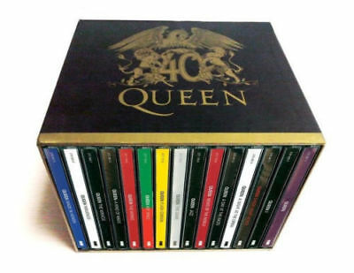 The Queen 40th Anniversary 30 CD Collector's Box Set Studio Albums Collection