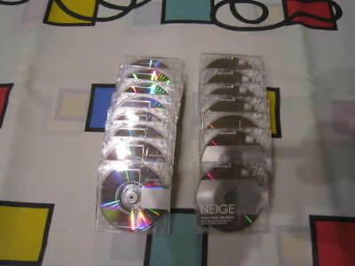 MiniDisk Sony ' Neige'   30 Recordable Disks 74 Min,New
