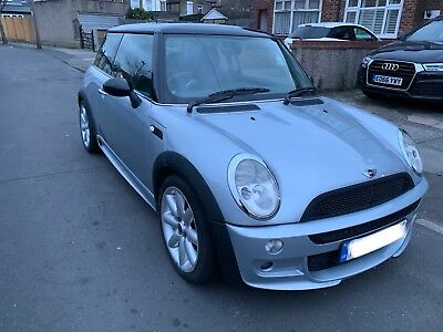 mini cooper 1.6 petrol manual aerokit 1yr mot bargain drives perfect low mileage